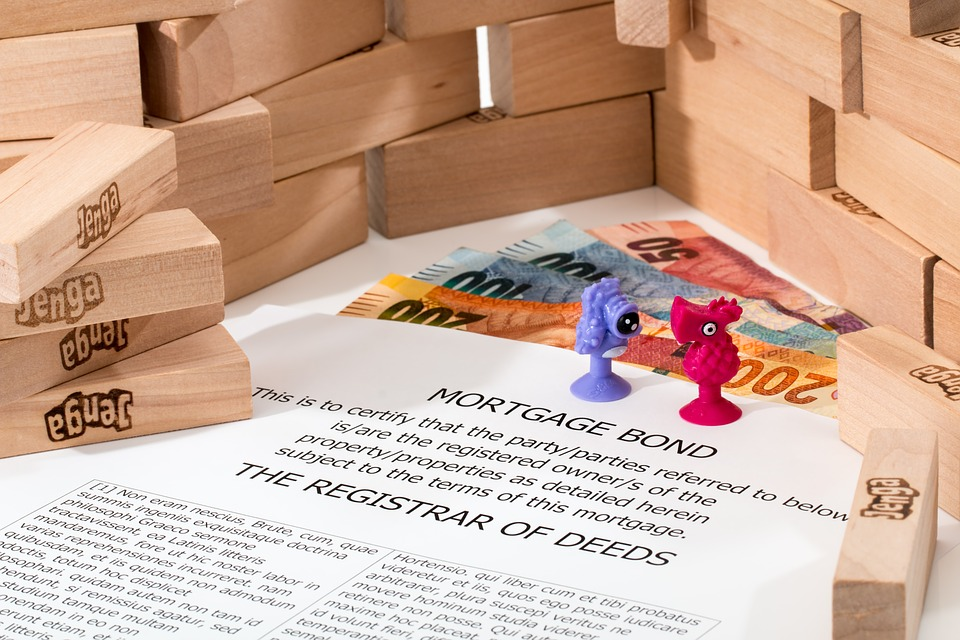 Contrat d'hypothèque